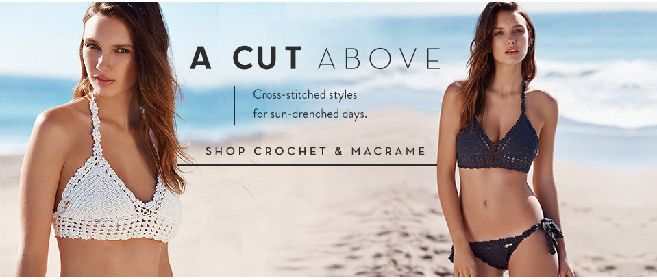 Shop Crochet and Macrame Swimsuits at Free People