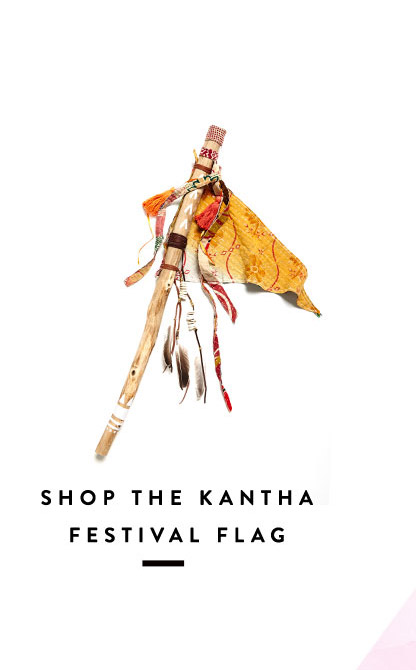 Shop the Kantha Festival Flag