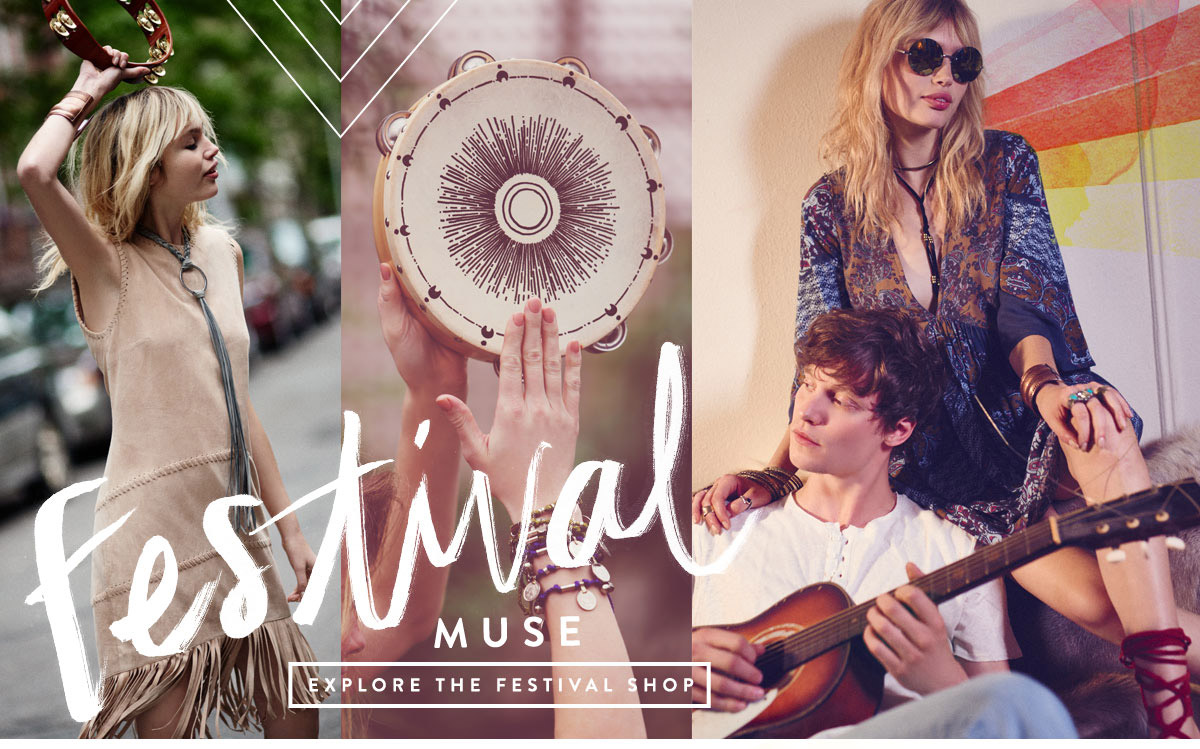 Festival Muse. Explore the Festival Shop: Festival Clothing & Accessories