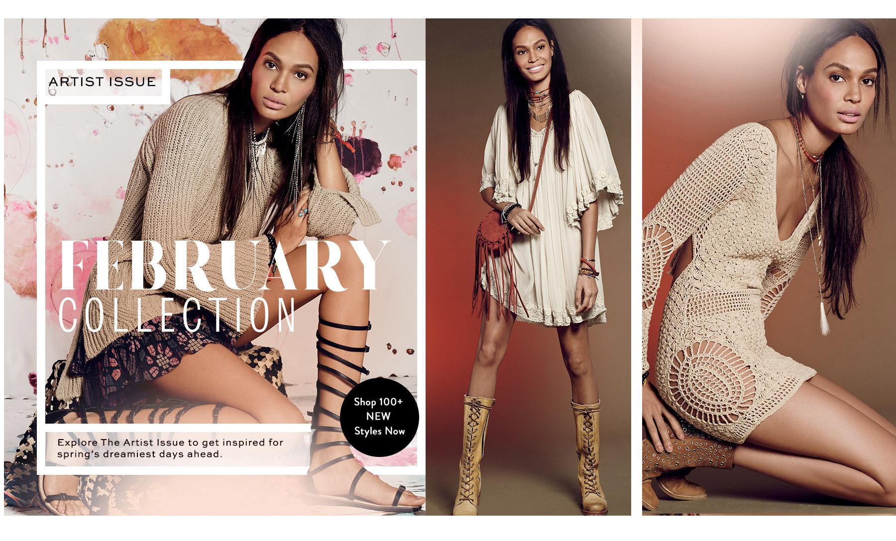 Shop the Feburary 2016 Catalog at Free People